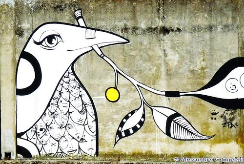 Murale a Comacchio