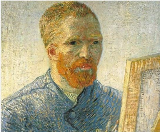 Vam Gogh al cavalletto