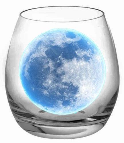 luna nel bicchiere