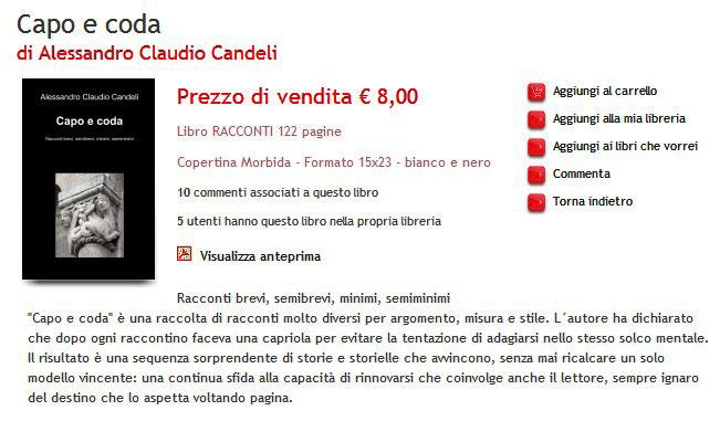 Racconti di A.C. Candeli