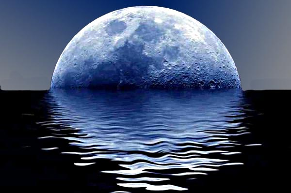 sorge la luna
